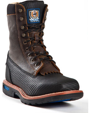 Cinch Men's WRX Composite Toe Work Boots, Black, hi-res