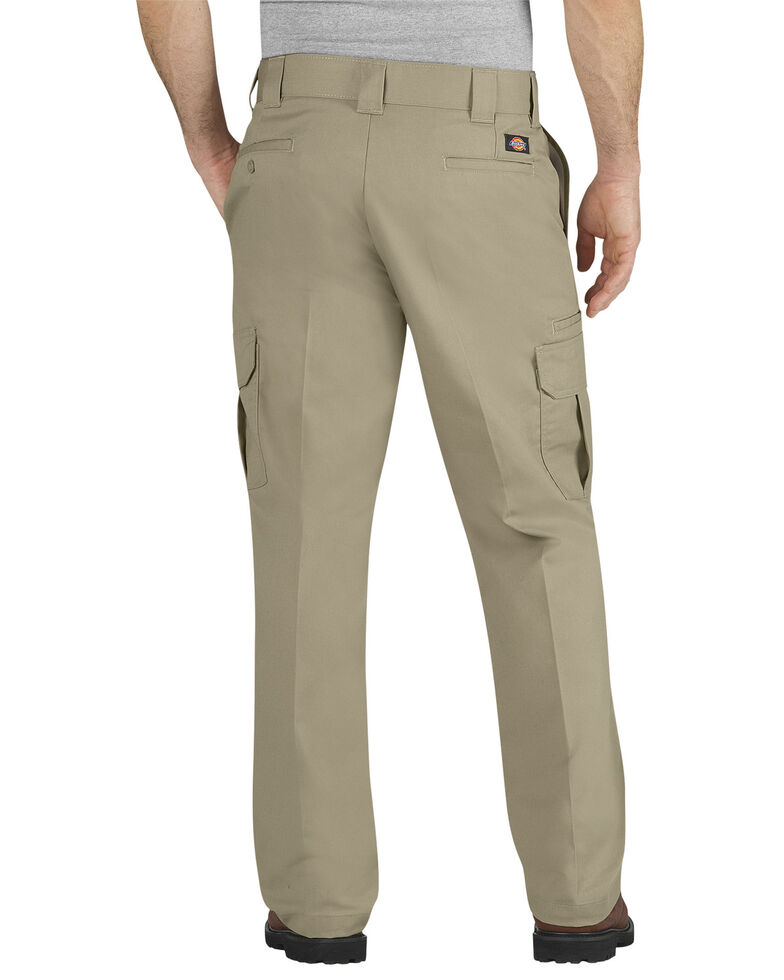 Dickies Flex Regular Fit Straight Leg Cargo Pants, Desert, hi-res