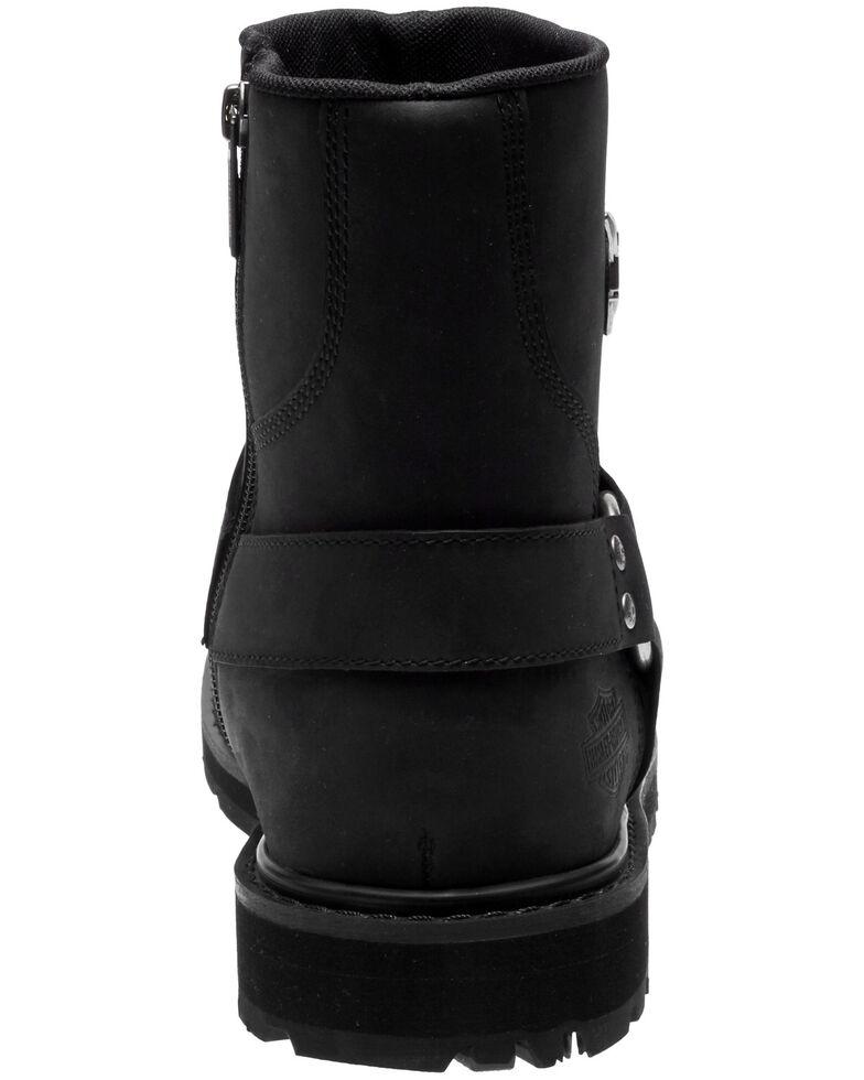 Harley-Davidson Men's Rambert Moto Boots - Round Toe, Black, hi-res