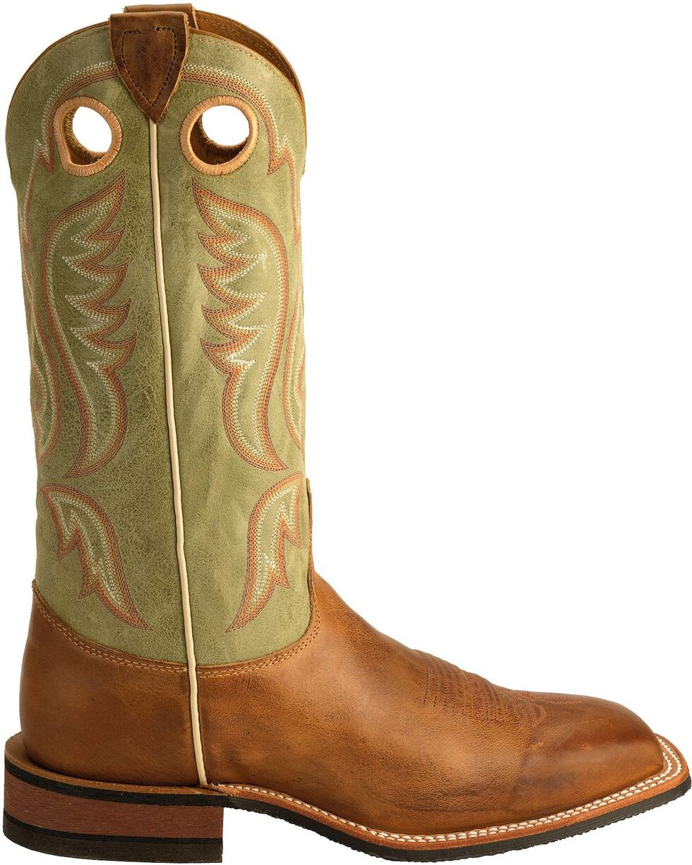 Justin Men's Bent Rail Boots, Tan, hi-res