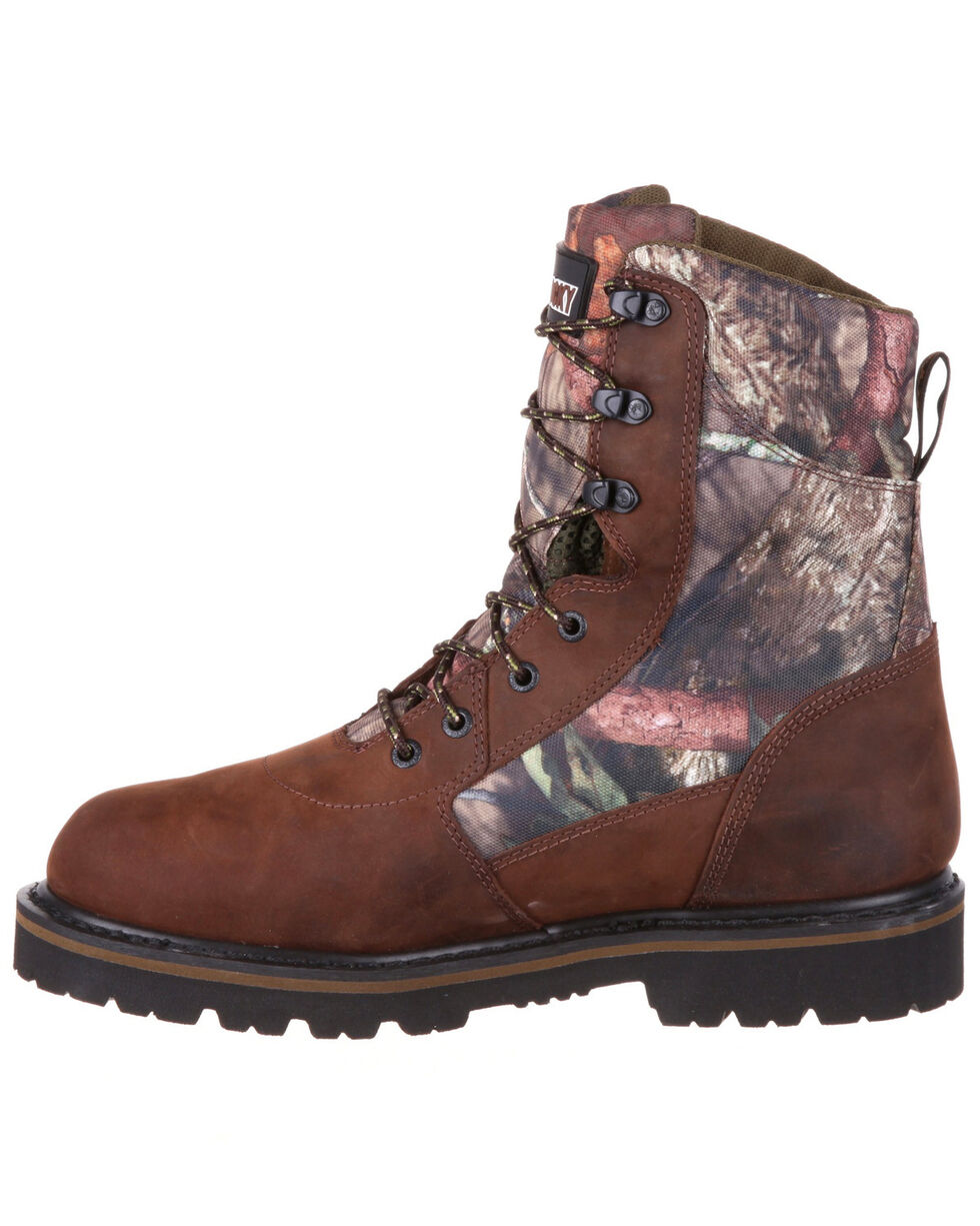 Rocky Men's Stalker Waterproof Hunting Boots - Round Toe, Multi, hi-res