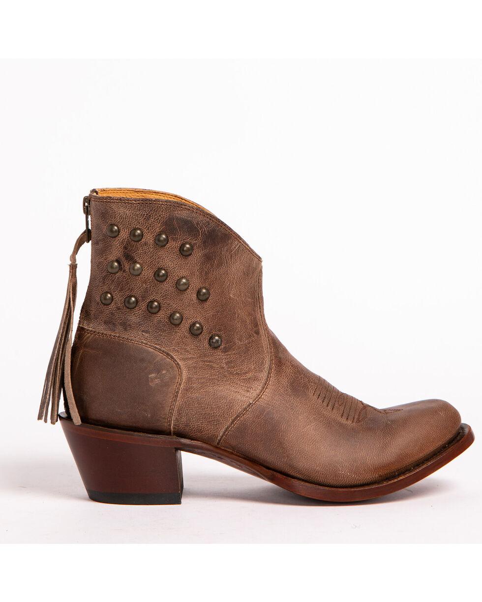 Shyanne® Women's Stud Fashion Booties, Brown, hi-res