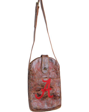 Gameday Boots University of Alabama Crossbody Bag, Brass, hi-res