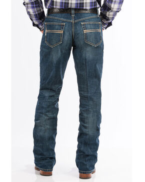 Cinch Men's Dark Stone Boot Cut Jeans, Indigo, hi-res
