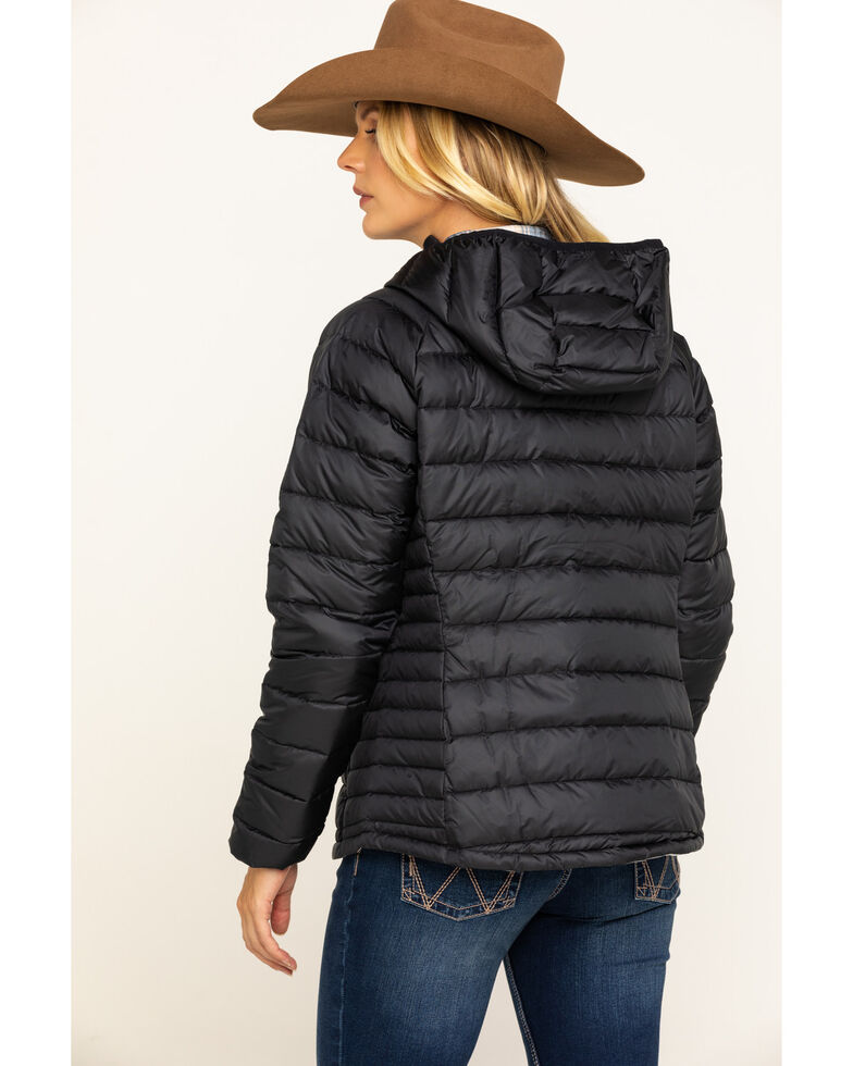 Cinch Women's Quilted Down Jacket, Black, hi-res