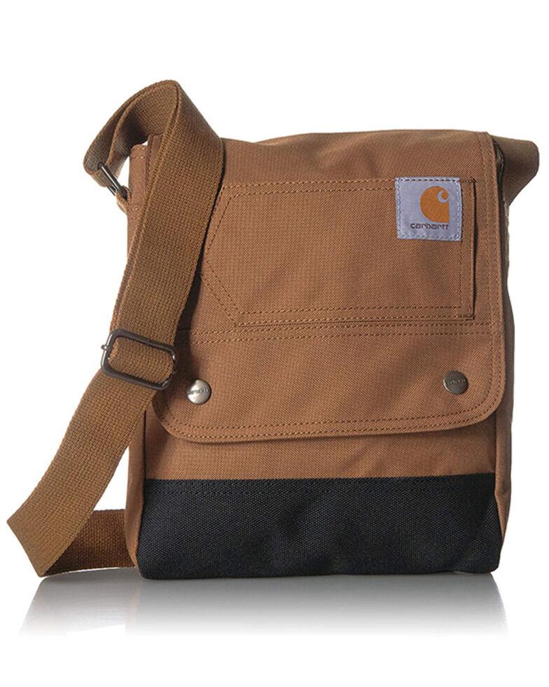 Carhartt Women's Fabric Crossbody Work Bag, Brown, hi-res