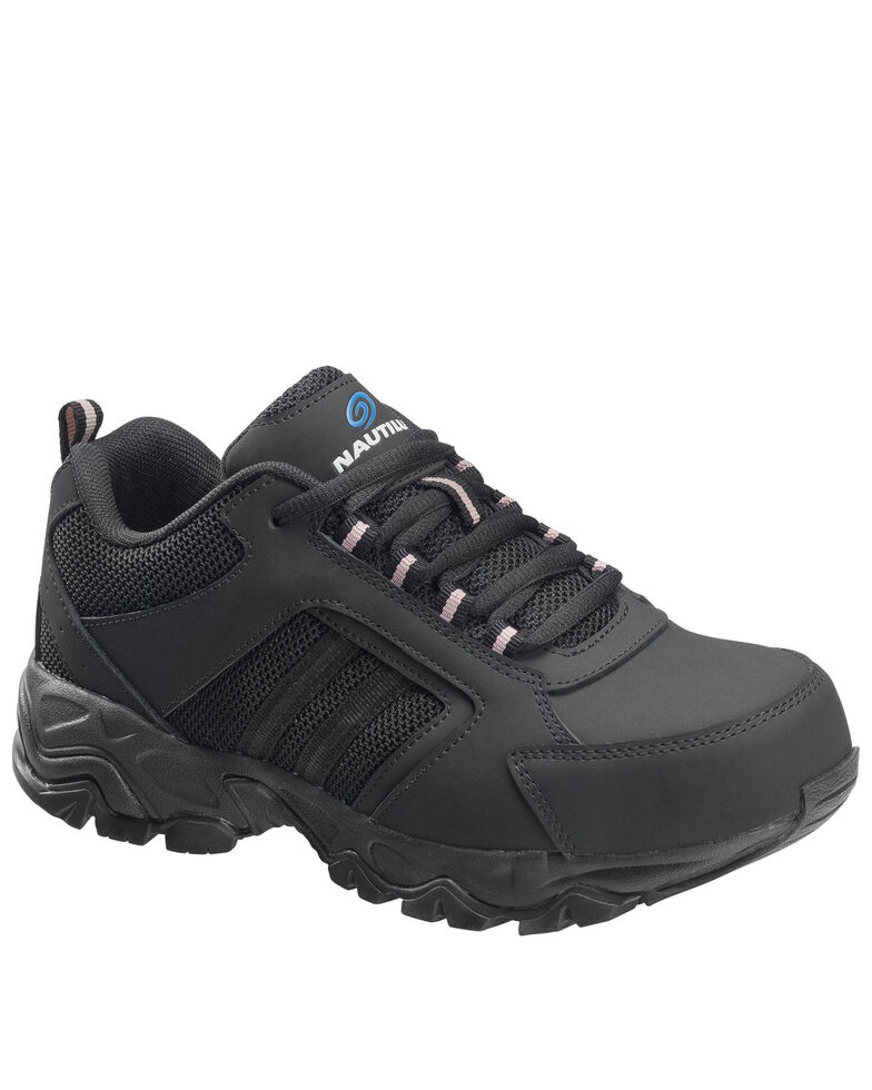 Nautilus Women's Guard Sport Work Shoes - Composite Toe, Black, hi-res