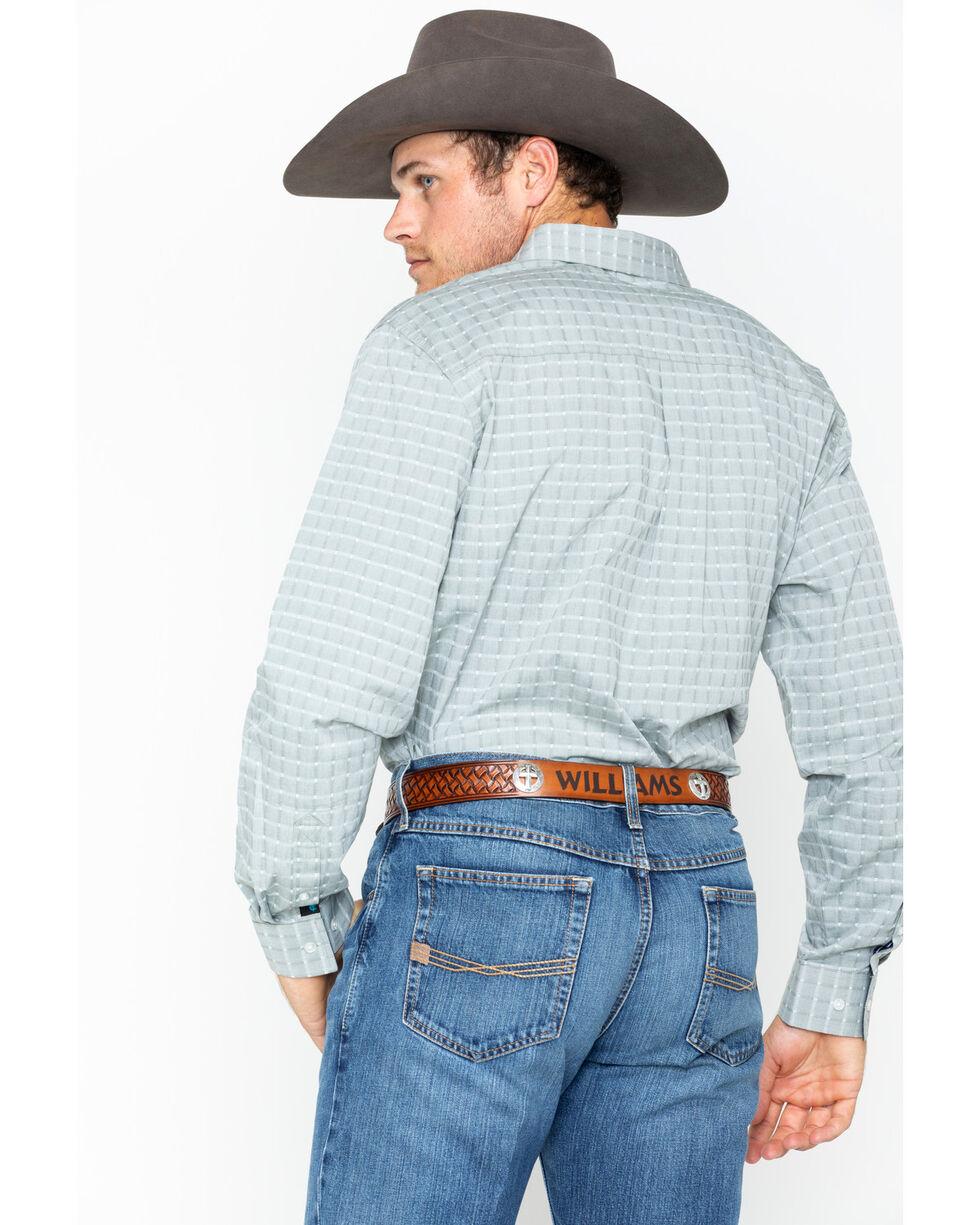 Cody James Men's Weston Woven Collared Shirt , Green, hi-res