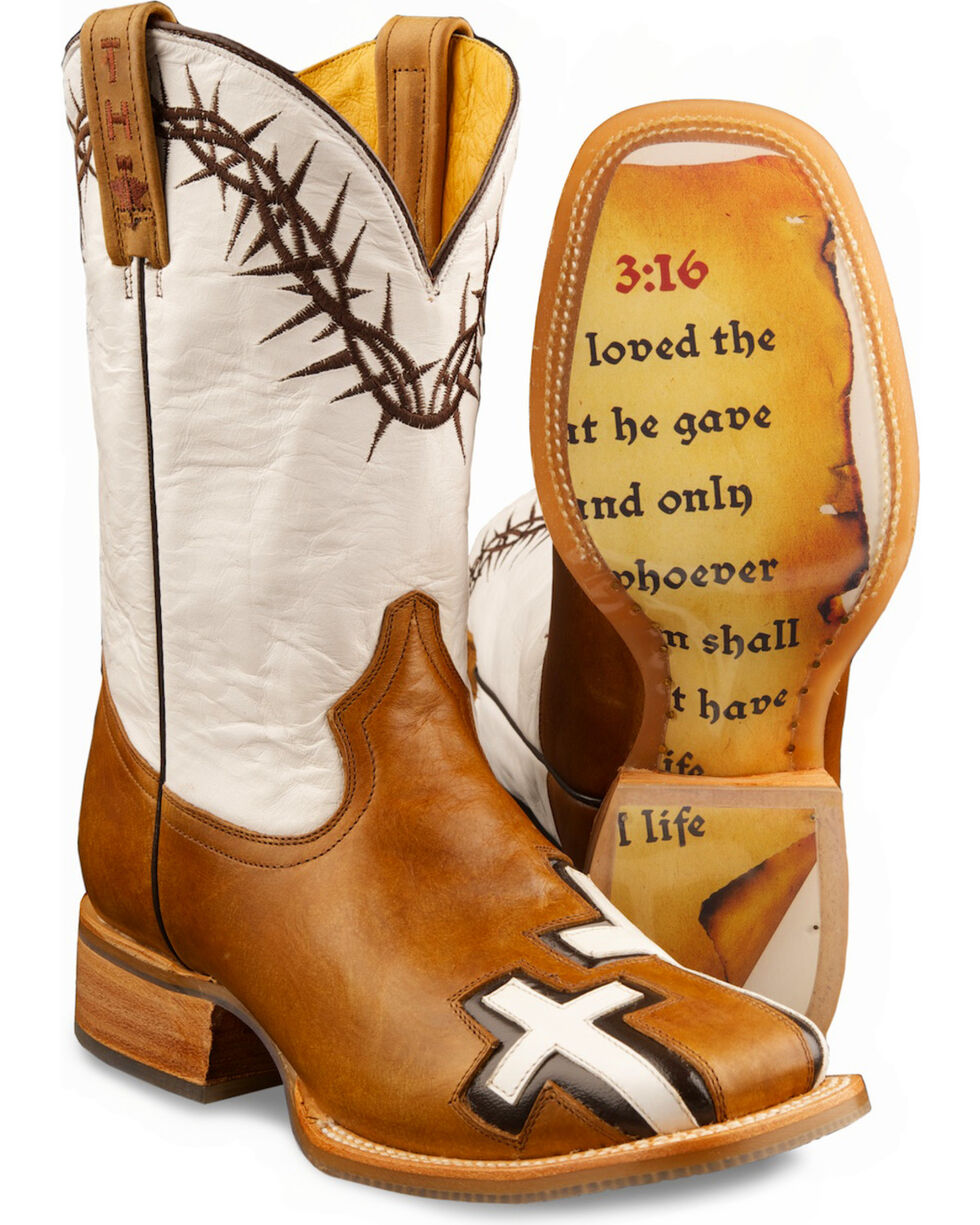 Tin Haul Women's Between Two Thieves Western Boots, Brown, hi-res