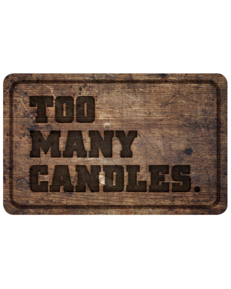 Boot Barn® Too Many Candles Gift Card, No Color, hi-res