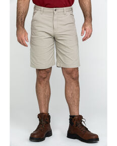 "Carhartt Men's 10"" Rugged Flex Rigby Work Shorts , Tan, hi-res"