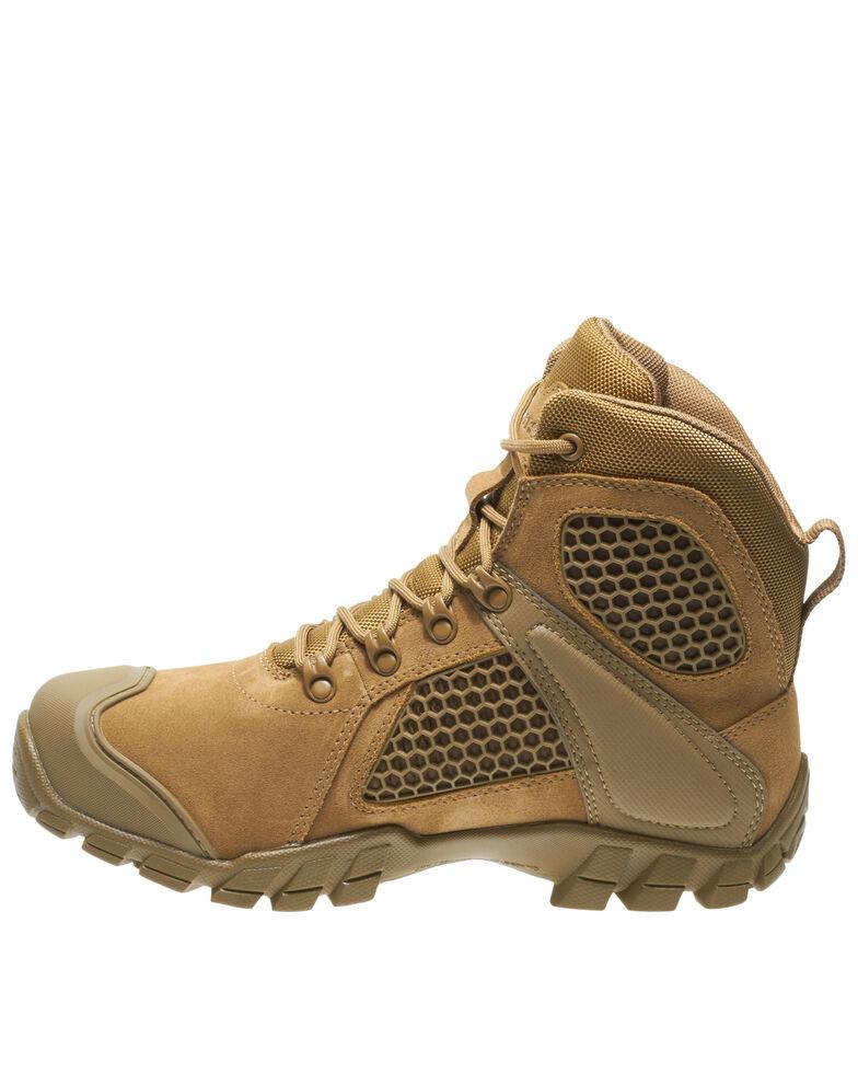 Bates Men's Shock FX Work Boots - Soft Toe, Tan, hi-res