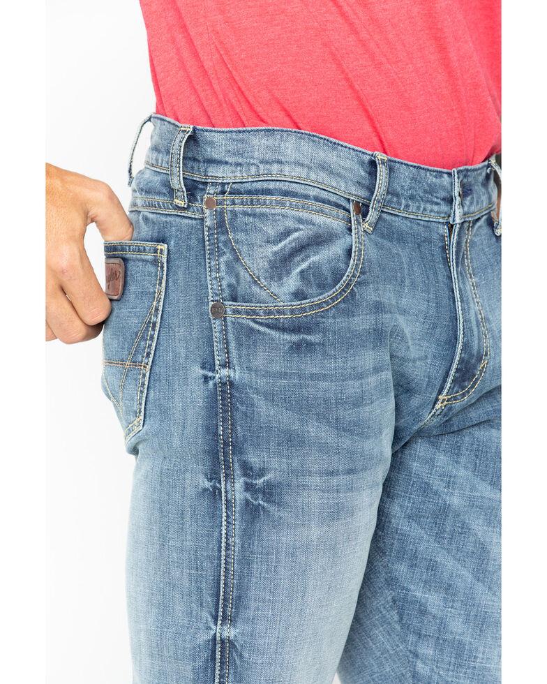 Wrangler Men's Retro Slim Fit Bootcut Jeans , Blue, hi-res
