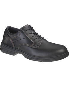 Caterpillar Oversee Oxford Work Shoes - Steel Toe, Black, hi-res