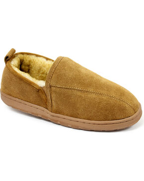 Lamo Men's Romeo Slippers , Chestnut, hi-res