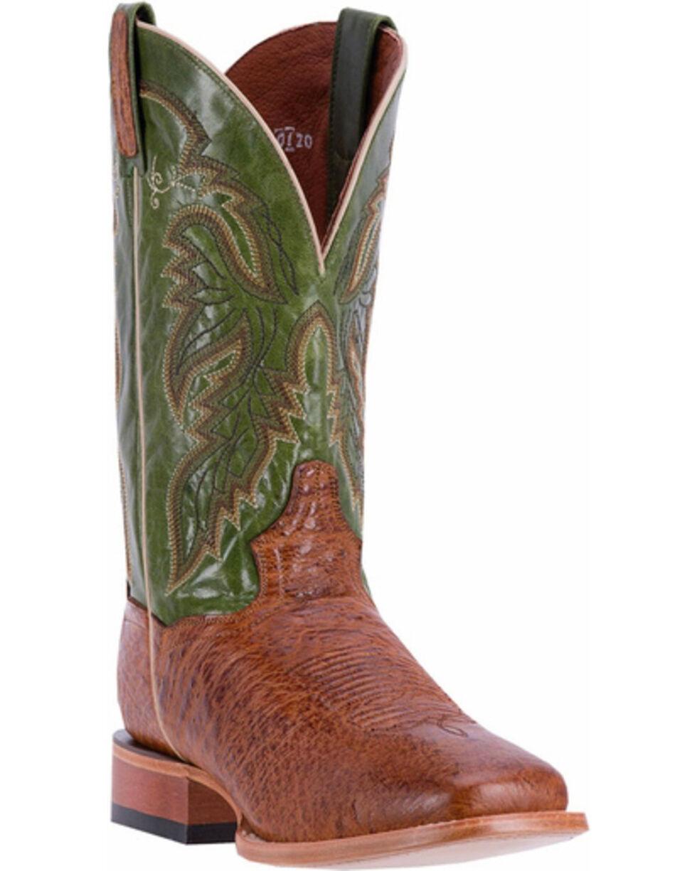 Dan Post Men's Callahan Western Boots, Brown, hi-res