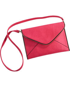 Wear N.E. Wear Women's Envelope Clutch/Crossbody Bag, Pink, hi-res