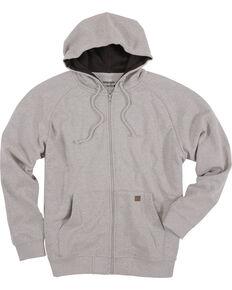 Wrangler Men's Heather Grey Riggs Workwear Zip Hoodie, Heather Grey, hi-res