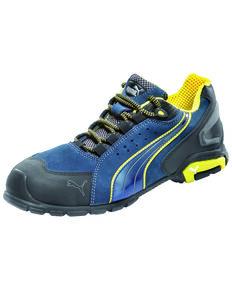 Puma Men's Rio Blue Work Shoes - Soft Toe, Blue, hi-res