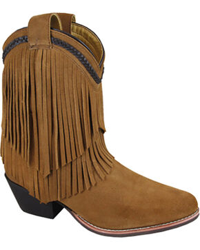 Smoky Mountain Women's Abby Western Boots - Medium Toe , Brown, hi-res
