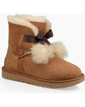 UGG® Gita Short Boots , Chestnut, hi-res