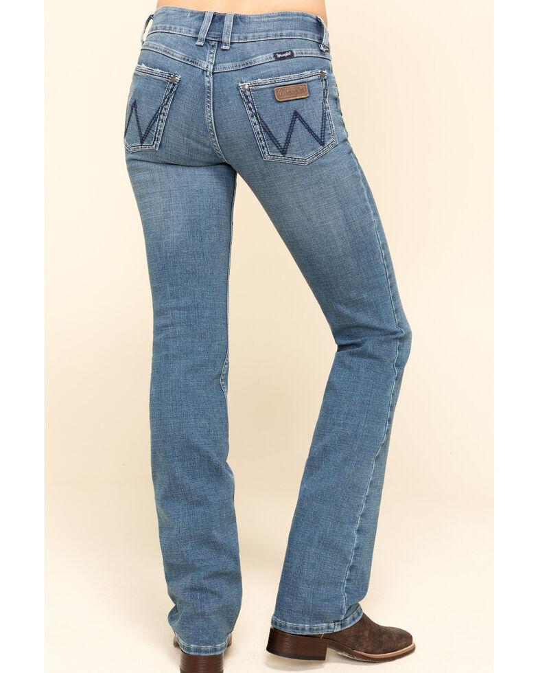 Wrangler Retro Women's Mae Jade Bootcut Jeans  , Blue, hi-res