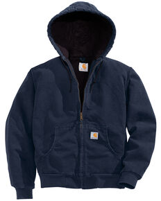 Carhartt Women's Sandstone Active Jacket, Navy, hi-res