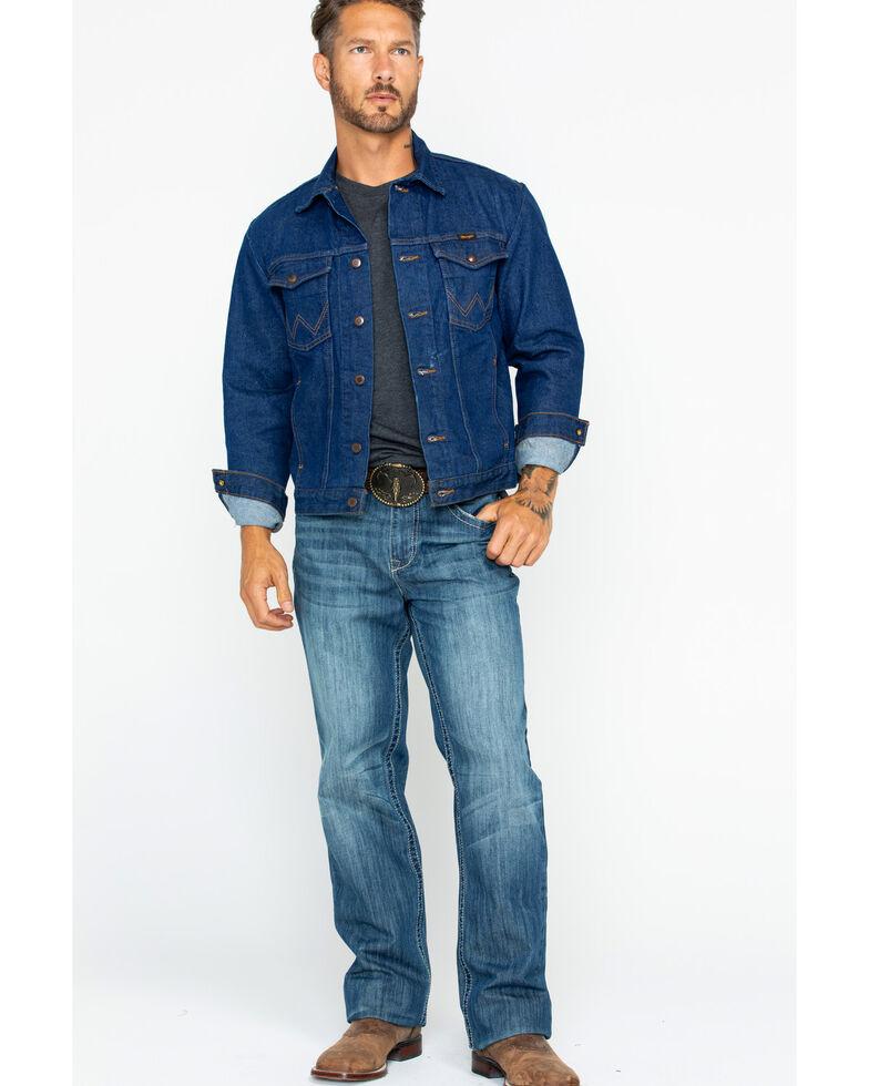 0bbcdf56835f4 Wrangler Men s Western Denim Jacket
