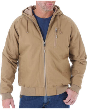Wrangler Men's Brown Riggs Workwear Utility Jacket - Tall , Brown, hi-res