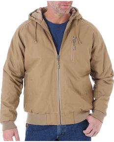 892c2790 Wrangler Men's Brown Riggs Workwear Utility Jacket - Tall