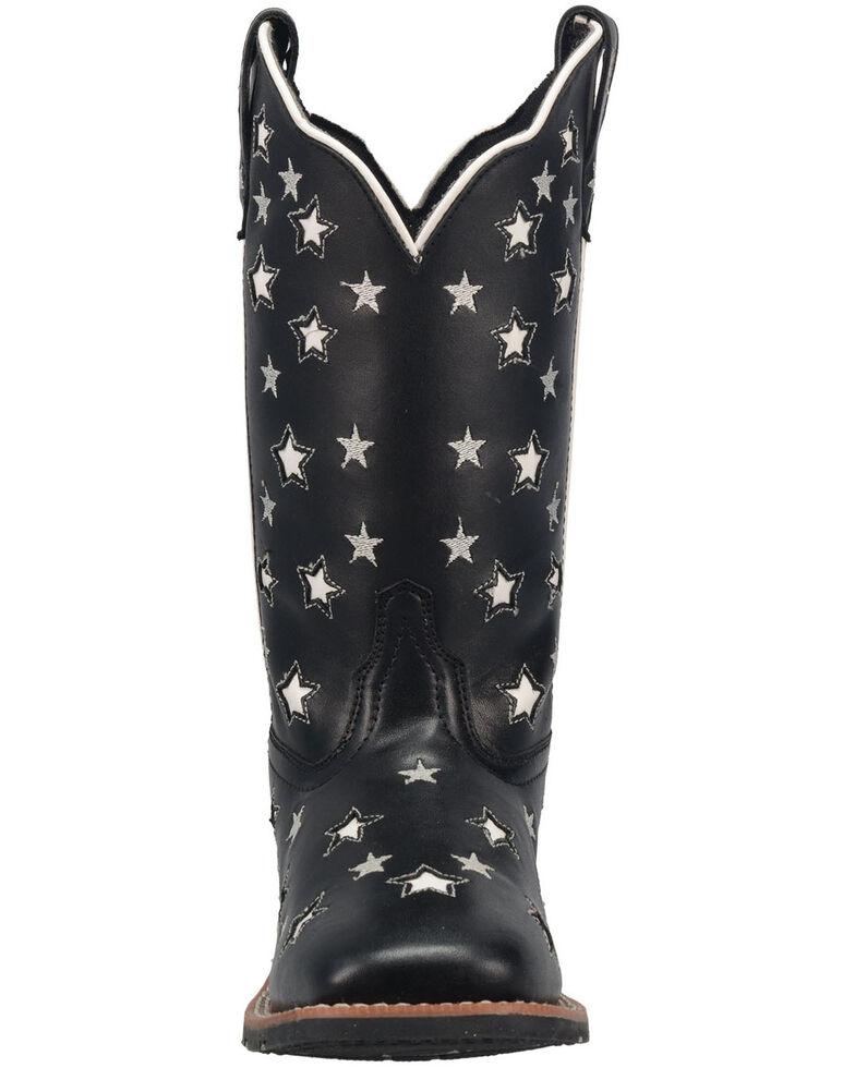 Laredo Women's Stargazer Western Boots - Square Toe, Black, hi-res