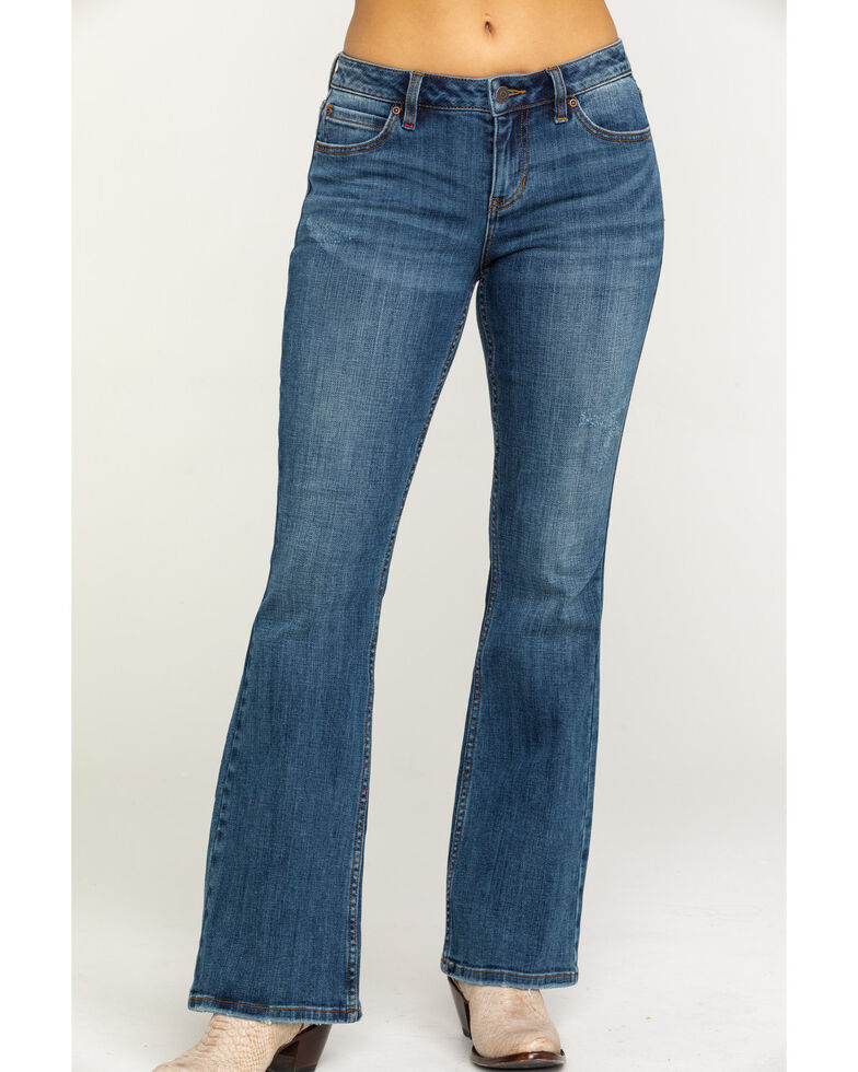 Idyllwind Women's Wild Heart Rebel Bootcut Jeans, Blue, hi-res
