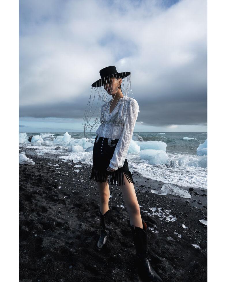 Double D Ranchwear Women's Dee Skirt, Black, hi-res