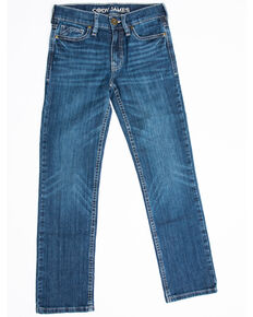 Cody James Boys' 4-8 Stone Cold Stretch Slim Straight Jeans , Blue, hi-res