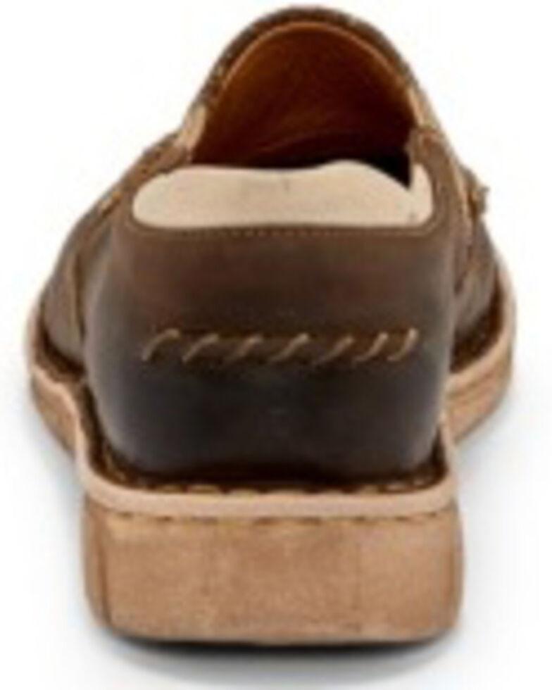 Tony Lama Women's Magdalena Mocha Shoes - Moc Toe, , hi-res