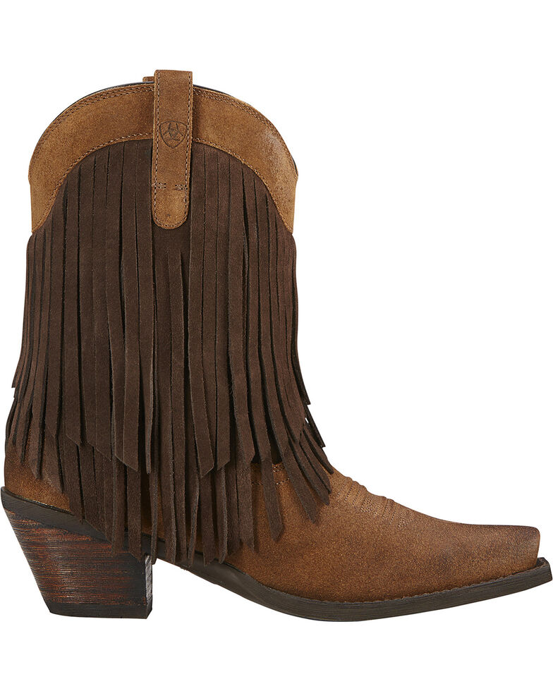 Ariat Women's Gold Rush Western Boots, Mocha, hi-res