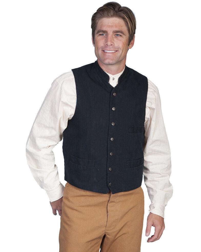 Rangewear by Scully Standup Round Collar Vest, Black, hi-res