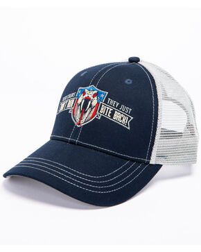 Cody James Men's Colors Don't Run Trucker Cap, Navy, hi-res