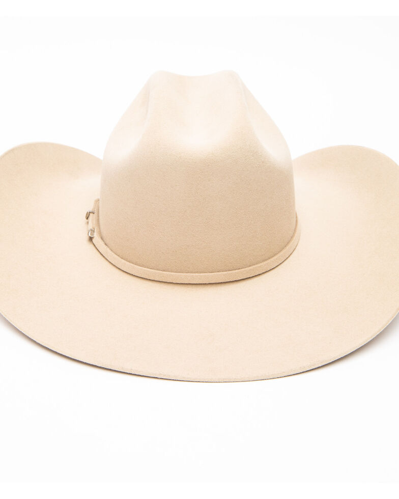 Serratelli Men's 5X Colt Dark Belly Cowboy Felt Hat , Tan, hi-res