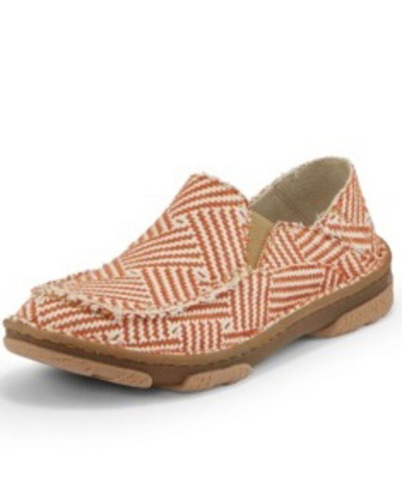 Tony Lama Women's Moccsi Pumpkin Shoes - Moc Toe, Red, hi-res
