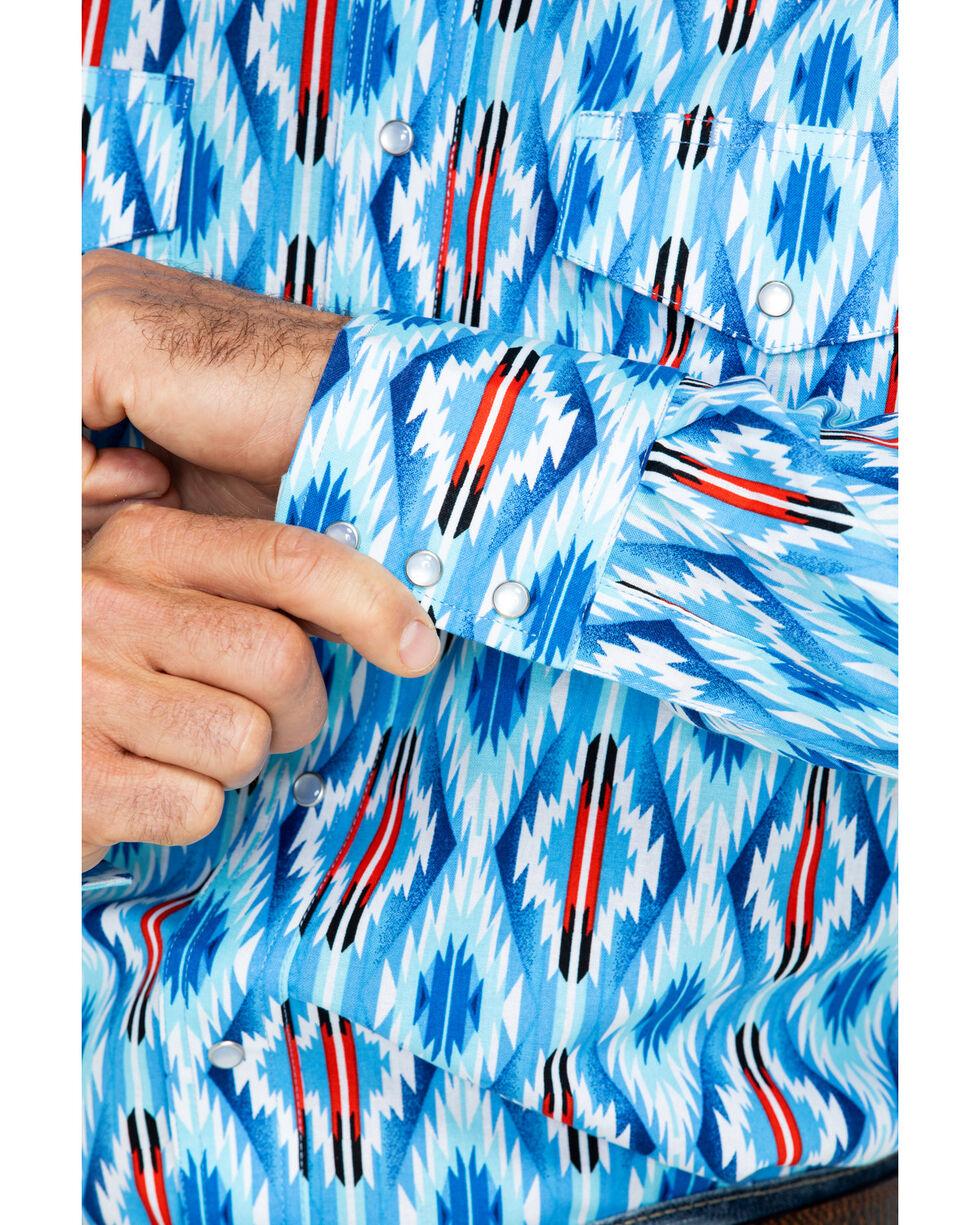 Wrangler Men's Long Sleeve Checotah Western Dress Shirt , , hi-res