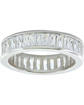 Montana Silversmiths Women's Rippling Stream of Light Ring  , Silver, hi-res