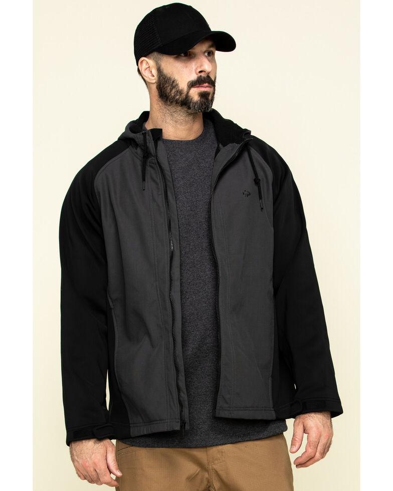 Wolverine Men's Charcoal I-90 Hybrid Soft Shell Jacket , Grey, hi-res