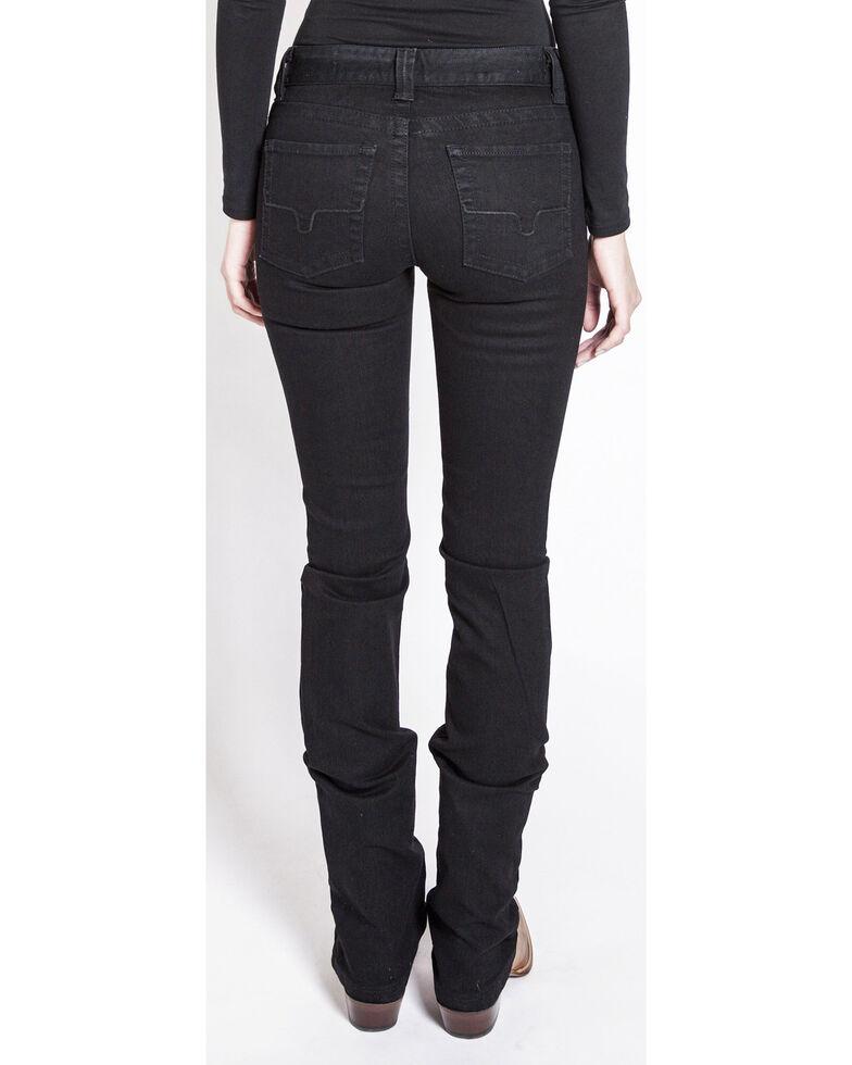 Kimes Ranch Women's Betty Black Modest Bootcut Jeans, Black, hi-res