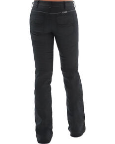 Cowgirl Tuff Women's Blackout Black Boot Cut Jeans, Black, hi-res