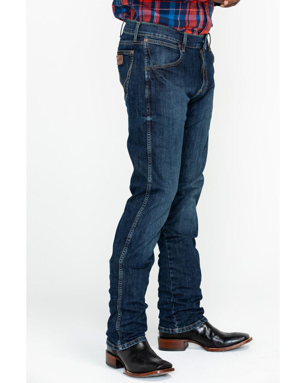 Wrangler Retro Men's Dawson Slim Straight Jeans - Tall , Blue, hi-res