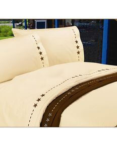 HiEnd Accents Star Sheet Set - Queen, Cream, hi-res
