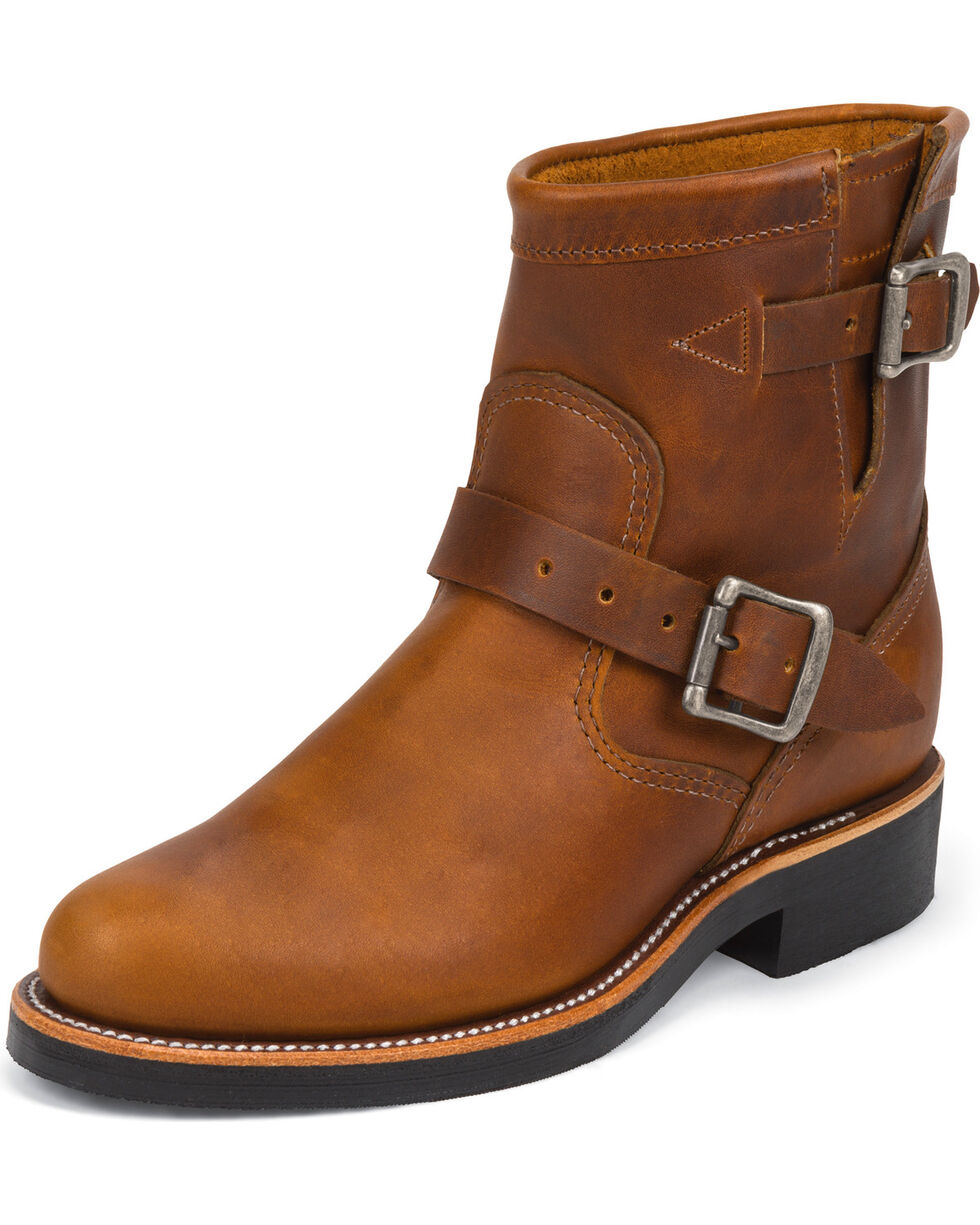 Chippewa Women's Renegade Engineer Boots, Tan, hi-res