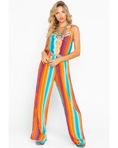 903505ec9b66 Rock   Roll Cowgirl Women s All Over Serape Print Jumpsuit