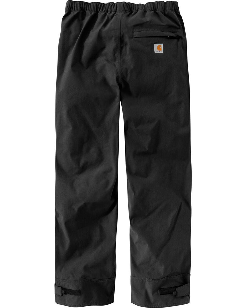 Carhartt Waterproof Breathable Shoreline Pants, Black, hi-res